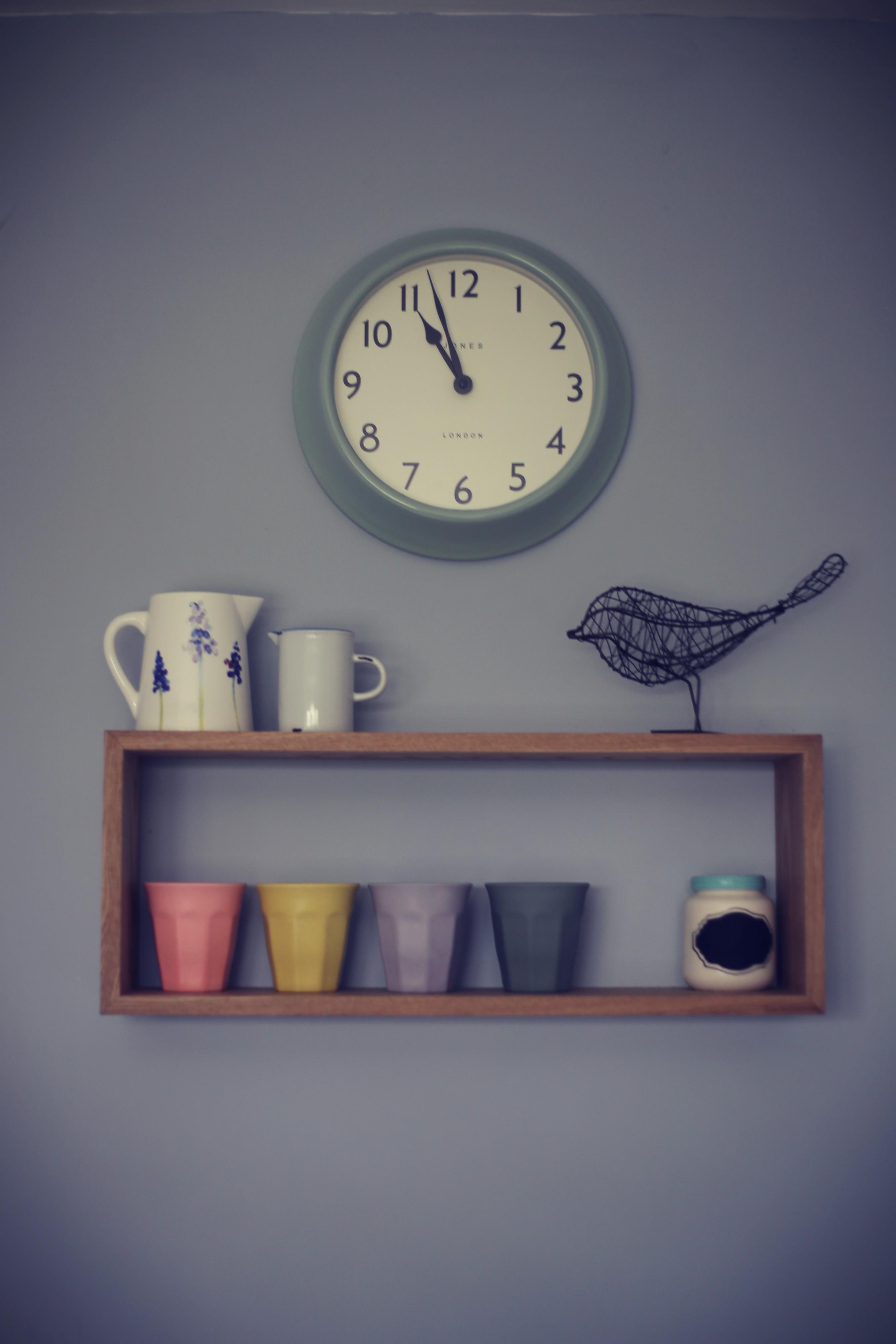 kitchen pastel home decor