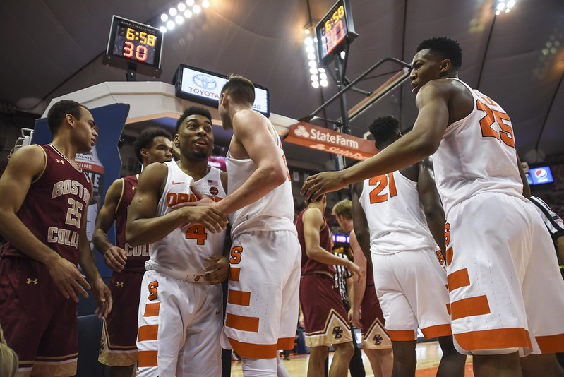 SU Basketball: Syracuse vs. Boston College
