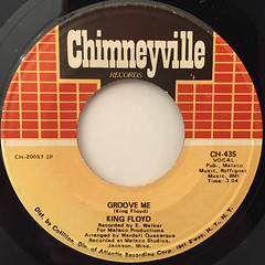 KING FLOYD:GROOVE ME(LABEL SIDE-A)