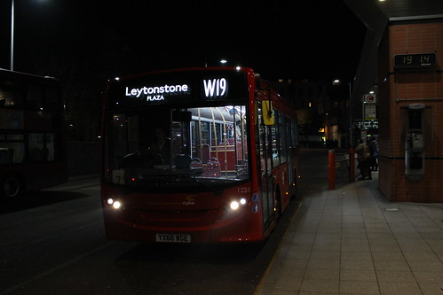 W19 to Leytonstone Station, Plaza
