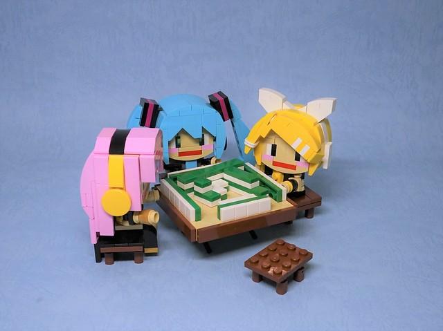 Let's mahjong!