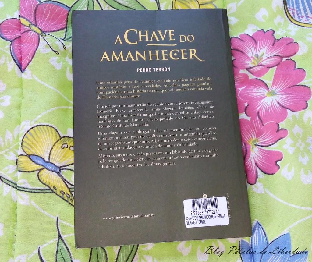 Resenha, livro, A-Chave-do-Amanhecer, Pedro-Terrón, primavera-editorial, kalixti, fotos, trechos, sinopse