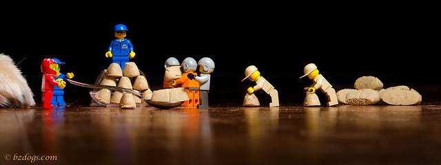 LEGOs At Work