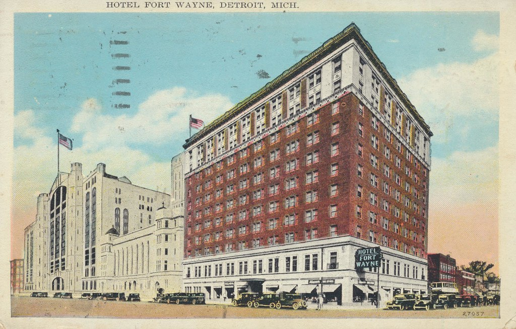 Hotel Fort Wayne - Detroit, Michigan