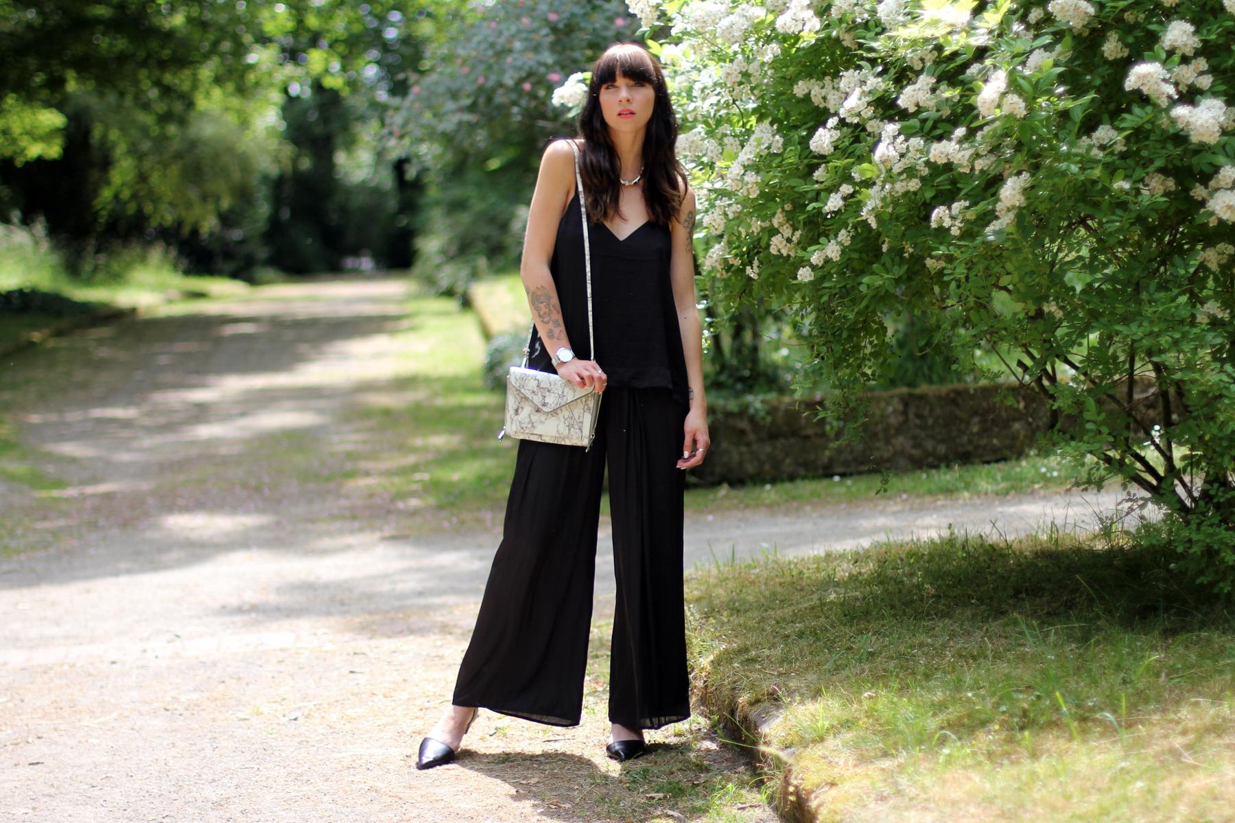 black outfit summer marble bag cute rebecca minkoff shopbop cute roses fashion blogger berlin düsseldorf ricarda schernus cats & dogs blog 6