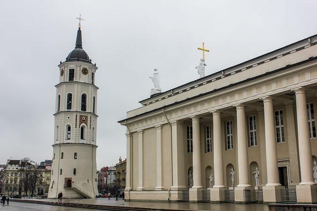 Catedral de Vilna, capital de Lituania