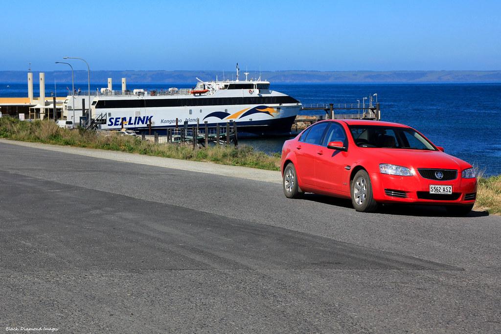 Kangaroo Island Ferry Car Car at Kangaroo Island