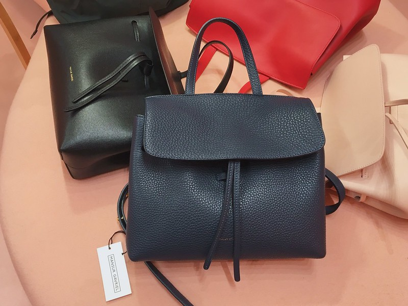 Mansur Gavriel Lady Bag Tumbled Leather Medium pI7350A