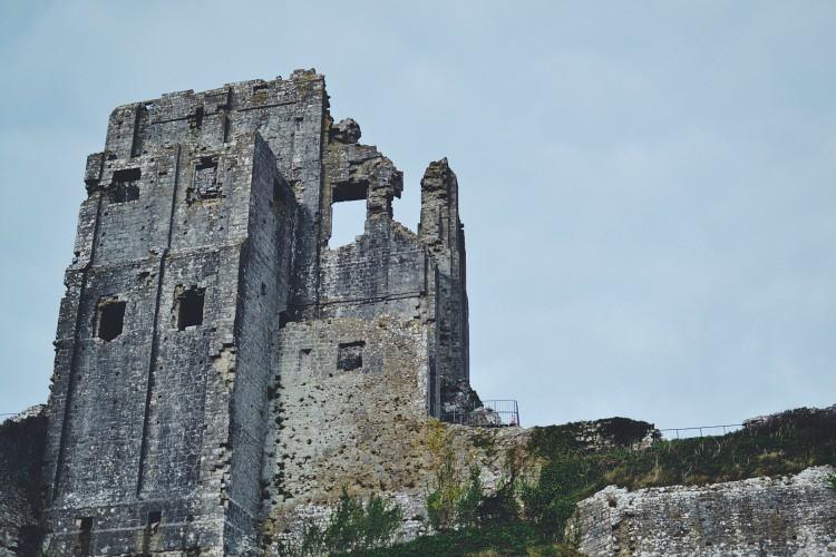 Ruins at Corfe Castle