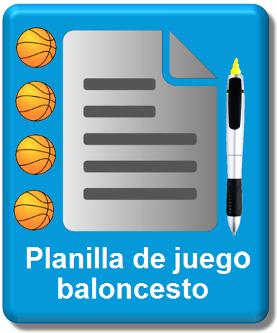 icono planilla oficial baloncesto 2