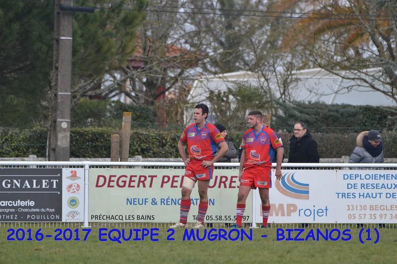 2016-2017 SENIORS 2 MUGRON - BIZANOS