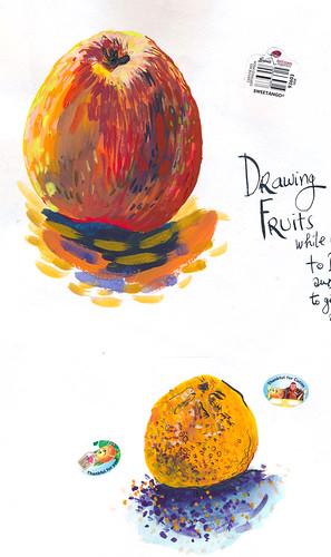 Sketchbook #101: Treasures (mostly edible :)