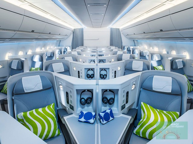 Finnair Busines A35020Airline Reviews