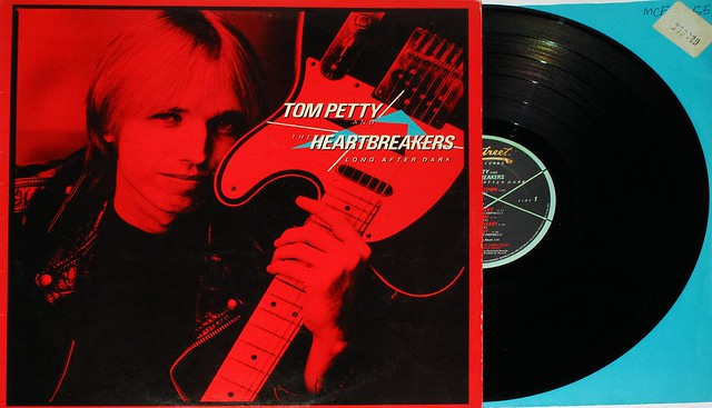 "TOM PETTY HEARTBREAKERS LONG AFTER DARK 12"" LP"