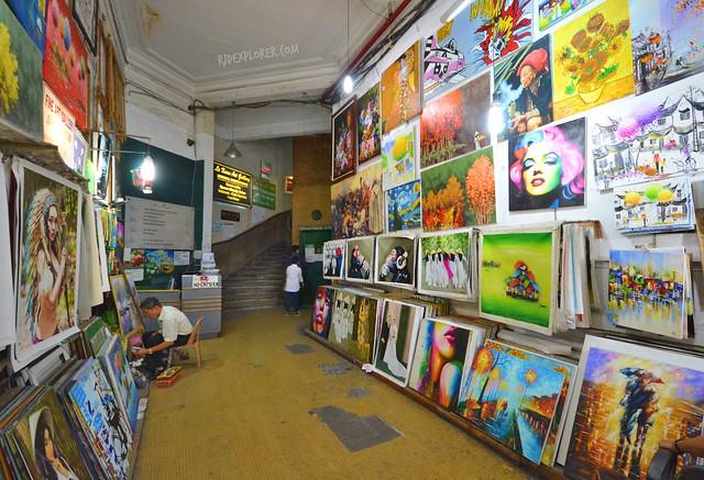 the loft café ho chi minh city art gallery