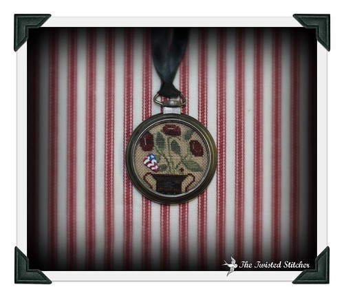 Land of the Free Pocket Watch Necklace