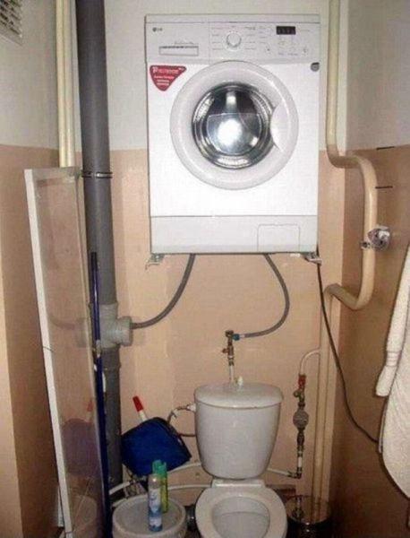 Imagen ingeniosa de como reaprovechar agua
