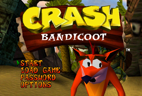 Crash Bandicoot - Title