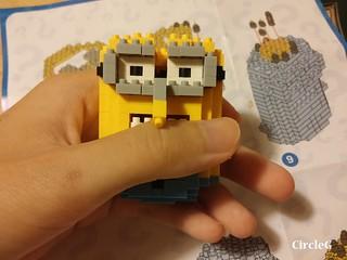 CIRCLEG MINIONS LOZ LEGO 微鑽積木 細過粒米阿 (7)