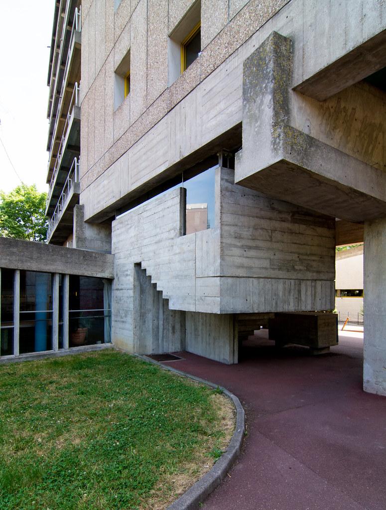 Dsc4243 maison du br sil paris le corbusier lucio cos flickr - Maison du bresil paris ...