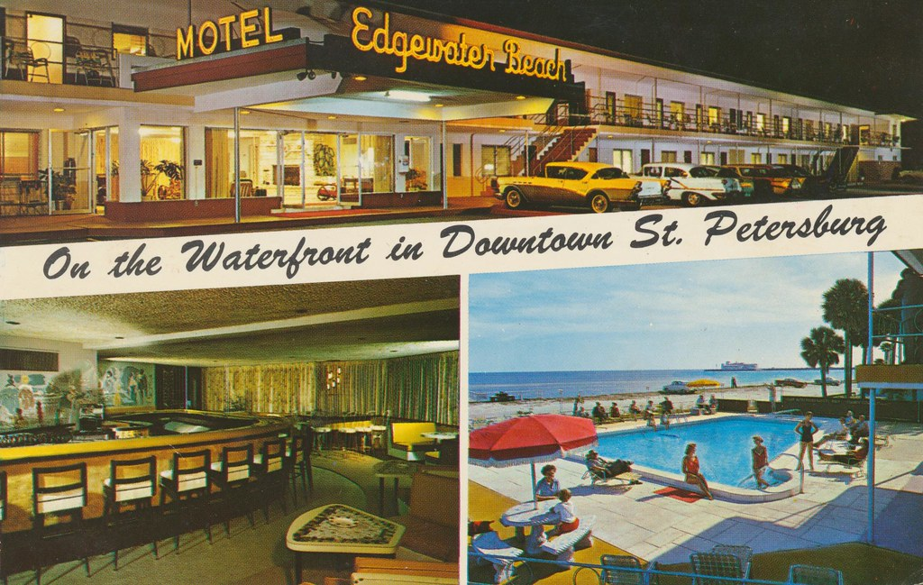 Edgewater Beach Motel Apts. - St. Petersburg, Florida