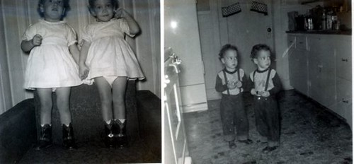 The Twins 1950s My Wife And Sister In Law Ada Oklahoma