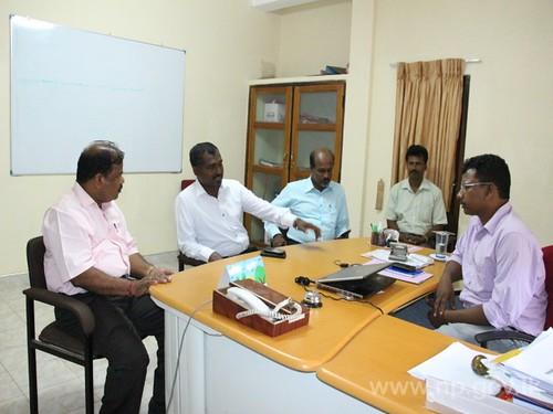 வவுனியா மாவட்டத்தின் வீதி அபிவிருத்தி பணிகள் தொடர்பில் கலந்துரையாடல்