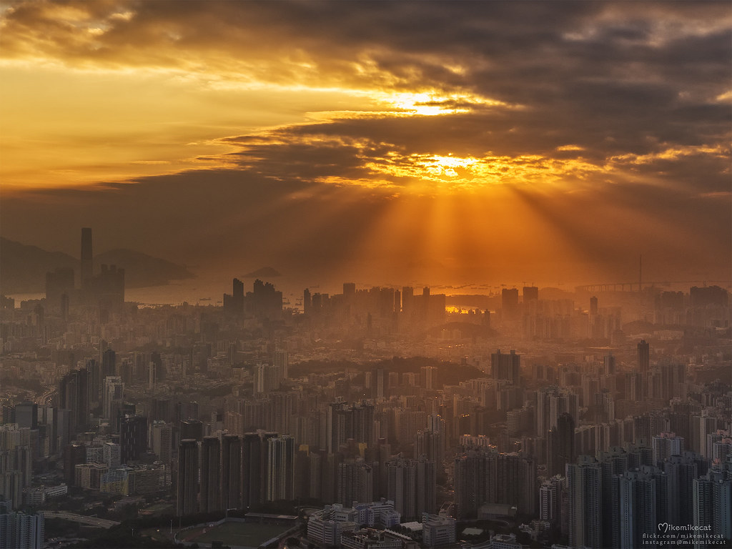 Kowloon Peak, Hong Kong