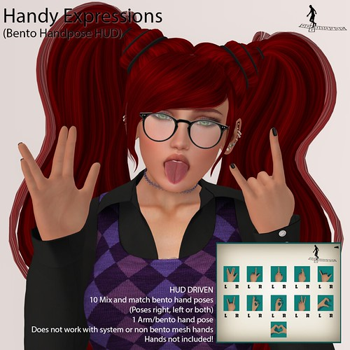Handy Expressions (Bento handposes HUD)