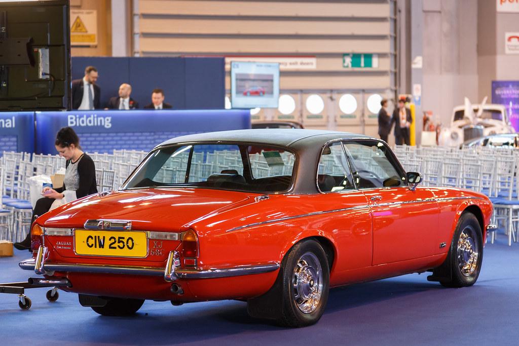 NEC Classic Car Show 2016 | Red 1977 Jaguar XJ12 5.3 Coupe -… | Flickr