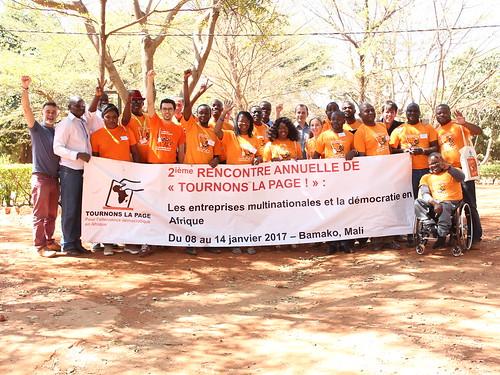 Diaporama Tournons la Page. Bamako. 2017