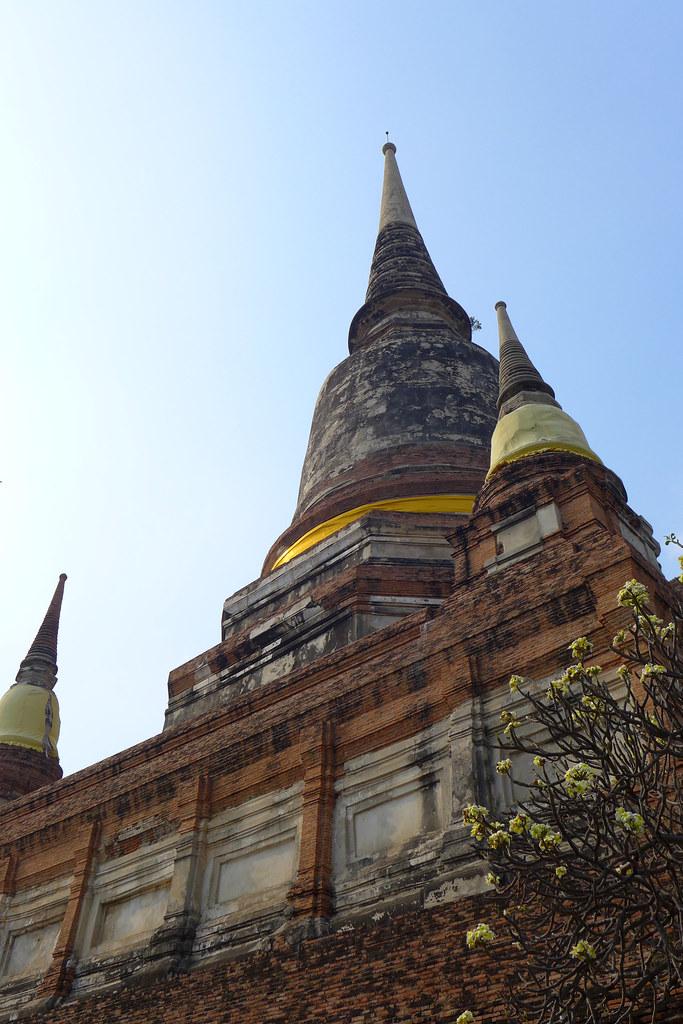 Thaïlande - Ayutthaya - 199 - Wat Yai Chai Mongkhon
