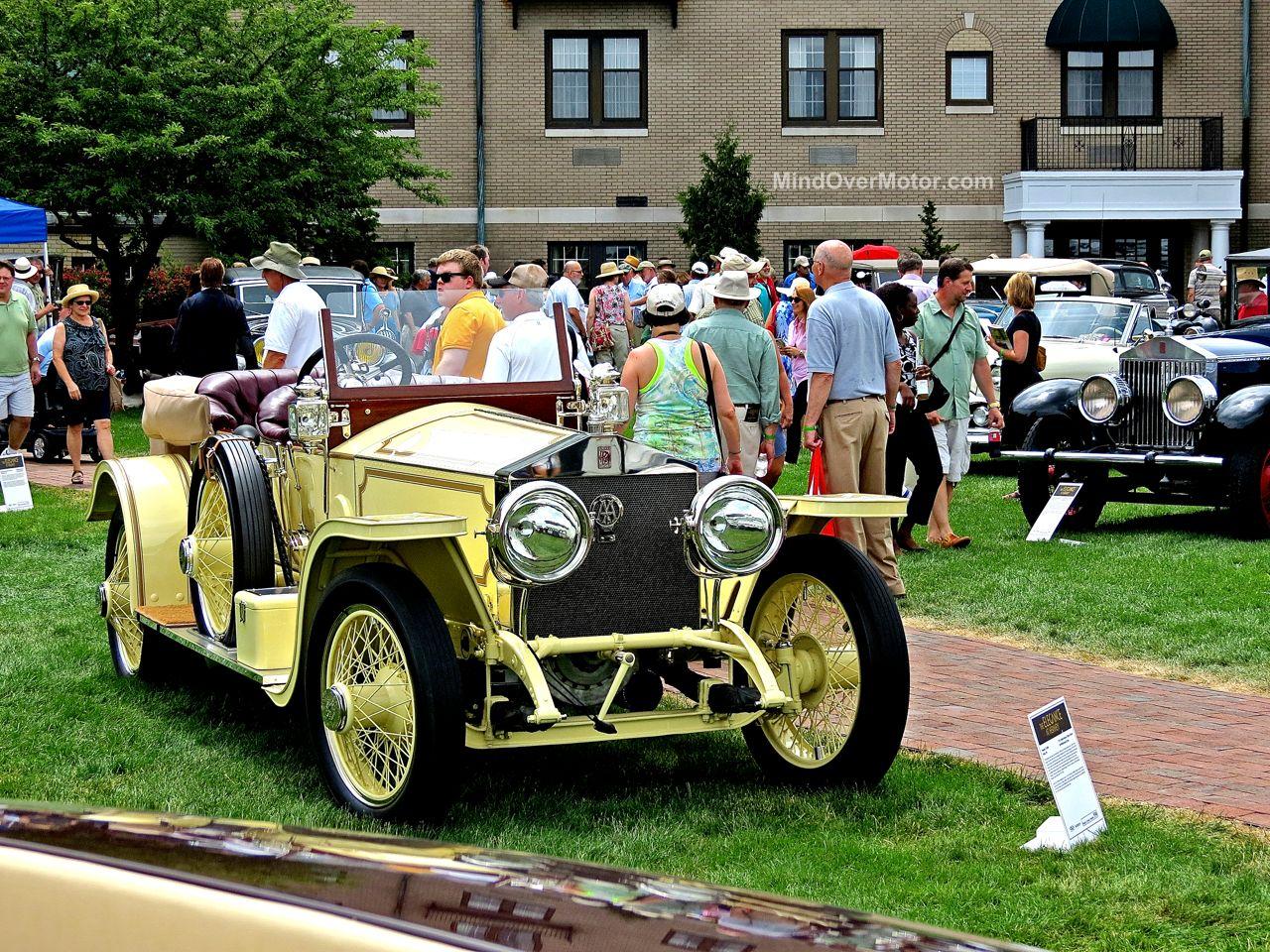 Hershey Elegance 2 Rolls Royce Yellow