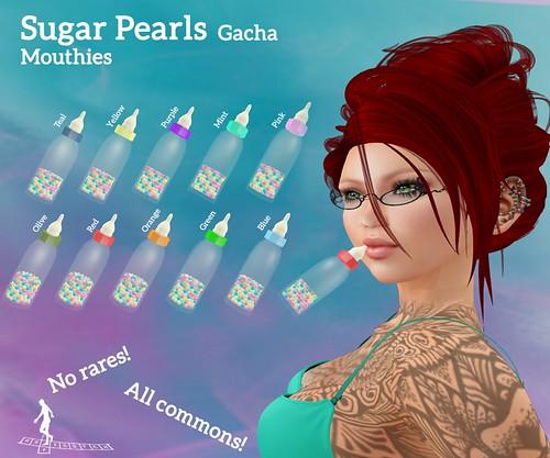 Sugar Pearls Mouthie Gacha