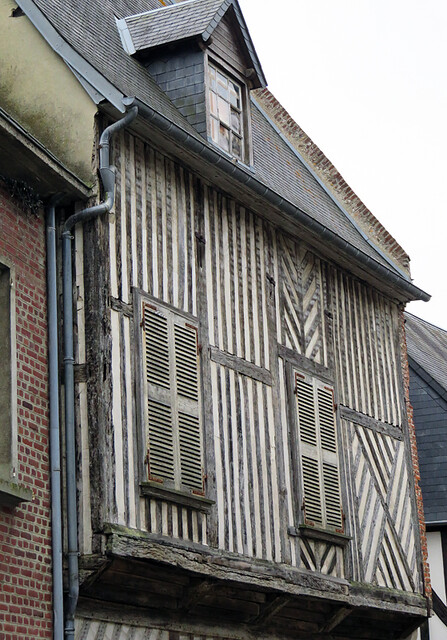 A traditional house in the Medieval Village section of St-Valery-sur-Sommes