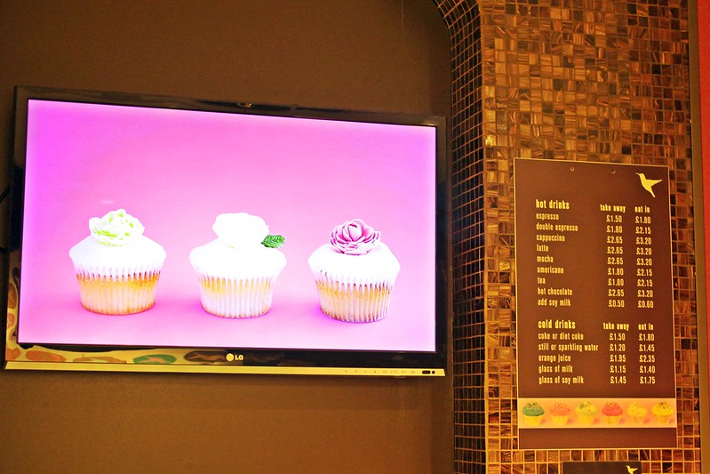 The Hummingbird Bakery-17度C搭火車遊英國-倫敦甜點 (2)