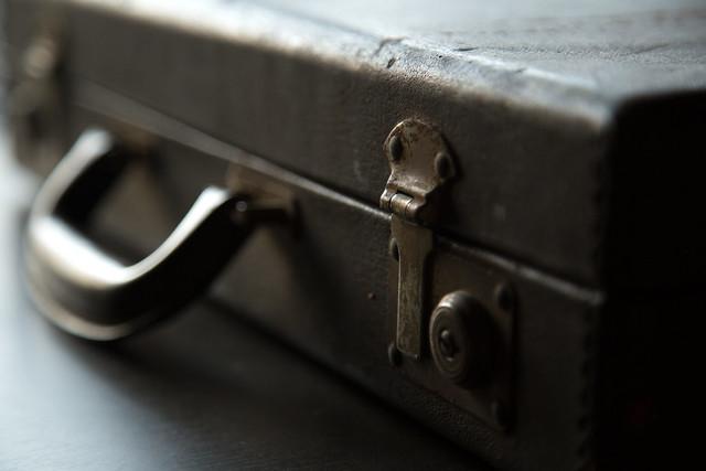 Vintage Art Briefcase - Latched