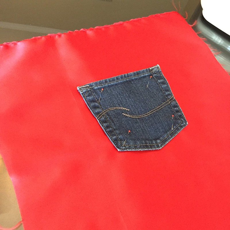 Americana Bag - In Progress