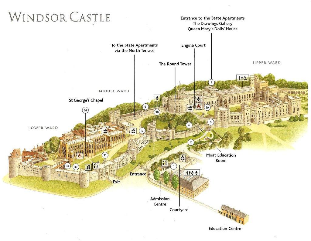 Windsor Castle Map Windsor Castle Map | Marc Hagen | Flickr Windsor Castle Map