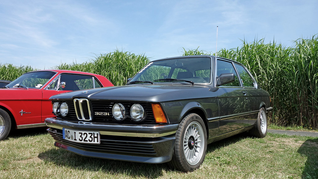 Bmw 323i E21 Ph 2 1979 82 With Bbs Front Spoiler