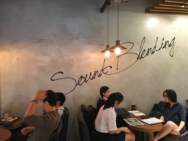Sound Blending, Dal.Komm Coffee, Centrepoint, Orchard Road, Singapore