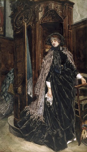 tissot, james jacques - The Confessional | by Amber Tree