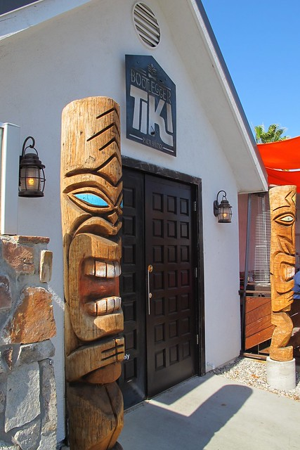 Bootlegger Tiki entrance
