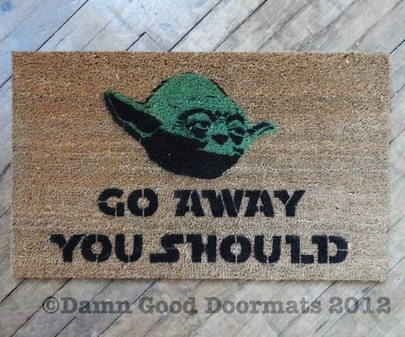 Damn Good Doormats - Star Wars Yoda
