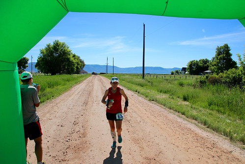 Bear Lake Marathon finish
