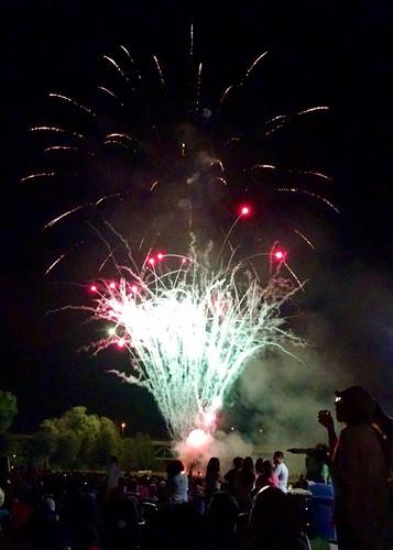 Derby-Shelton Fireworks 2015