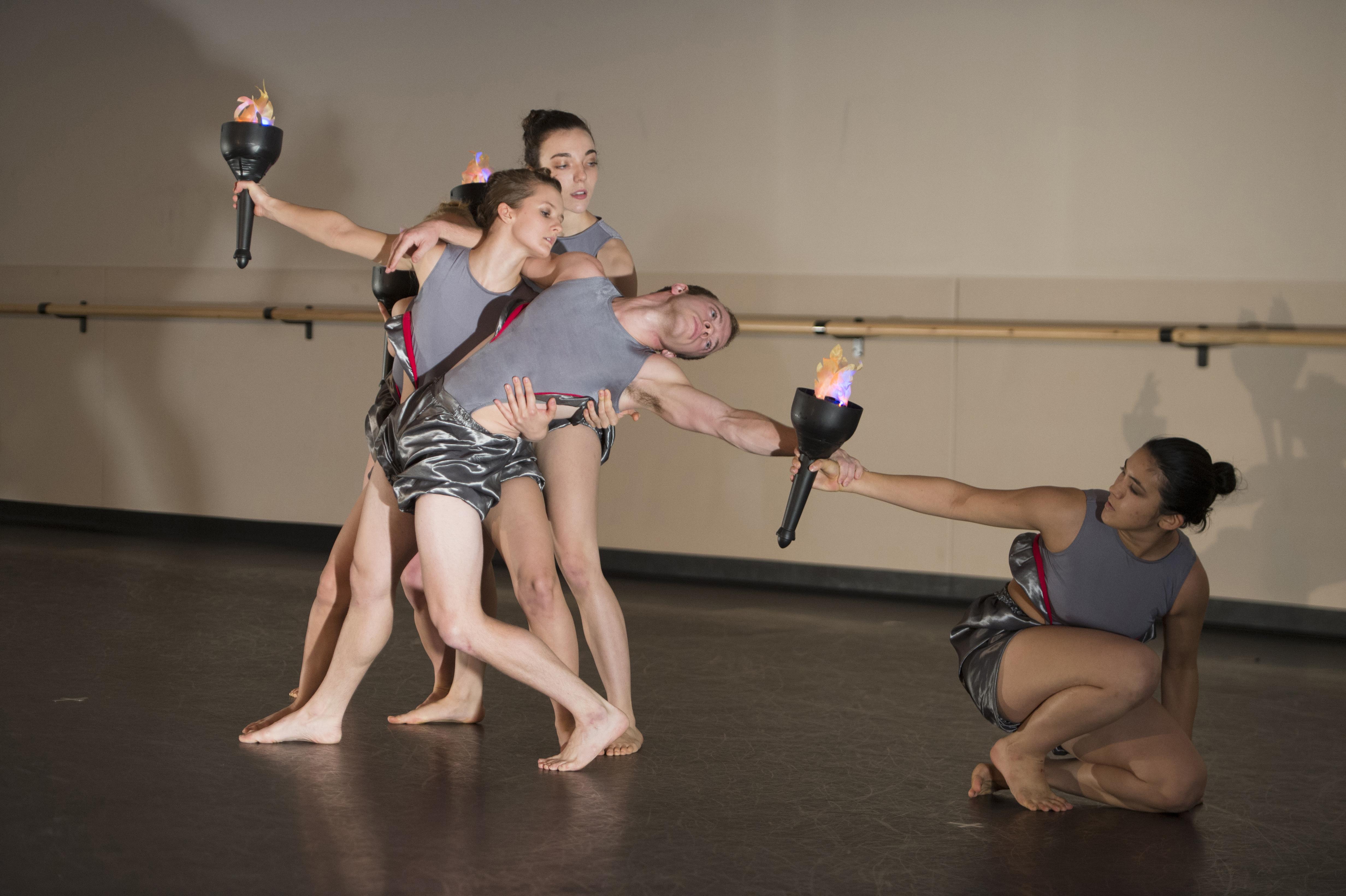 Pyromania rehearsal