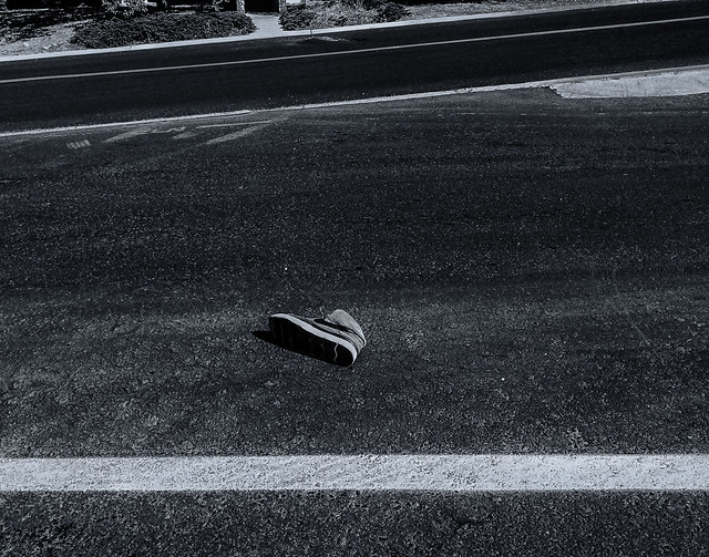 Shoe in the Street