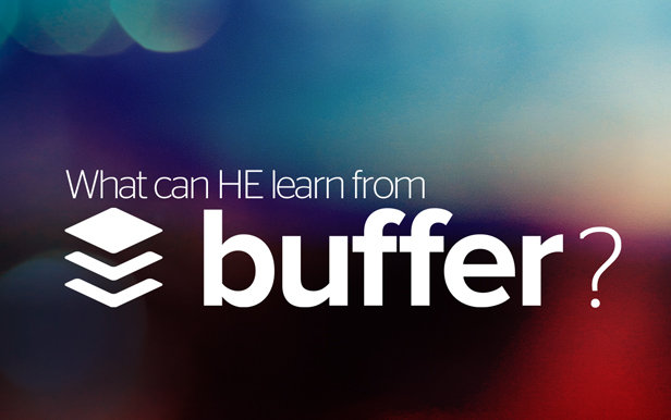 What can higher education learn from Buffer?