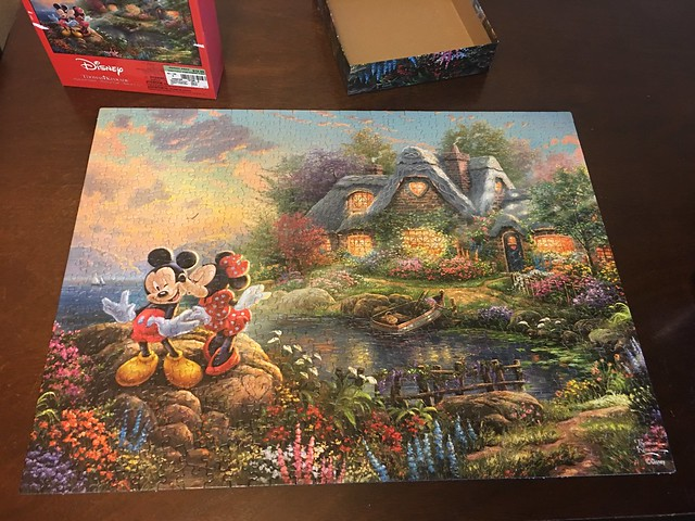 I bought a new puzzle